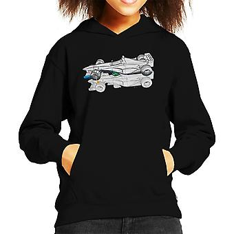 Motorsport Images Benetton B199 Comparison With B198 Kid's Hooded Sweatshirt