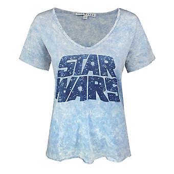 Junk Food Star Wars Logo Women's Oversized T-Shirt