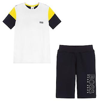 Hugo Boss Kids T-Shirt & Shorts Set