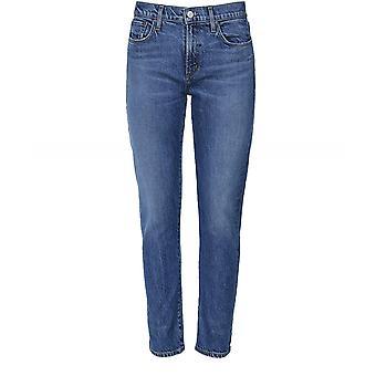 AGOLDE Toni Mid Rise Straight Leg Jeans