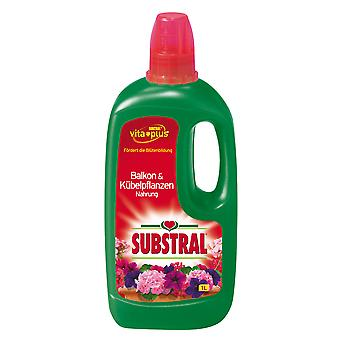 SUBSTRAL® Balkong & & Potteplanter Mat, 1 liter