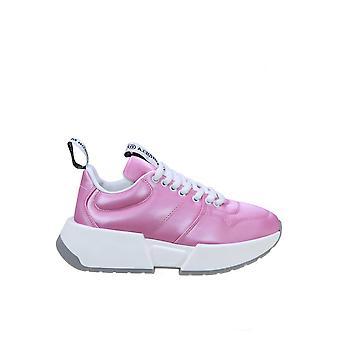 Mm6 Maison Margiela S66ws0004p3024t4216 Women-apos;s Fuchsia Sneakers en cuir