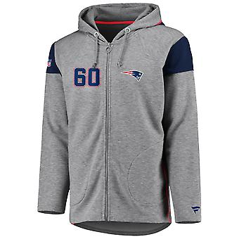 Iconic Franchise Full Zip NFL Hoodie - New England Patriots