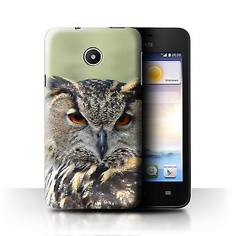 STUFF4 Fall/Abdeckung für Huawei Ascend Y330/Adler Eule/Vögel der Beute