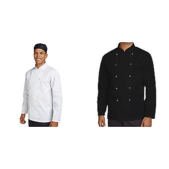 Dennys Unisex Adults Budget Long Sleeve Chef Jacket