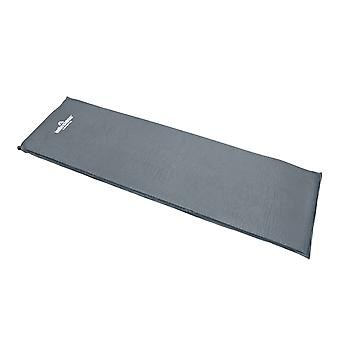 Milestone Self Inflating Camping Sleeping Mat 7.0cm Charcoal Grey