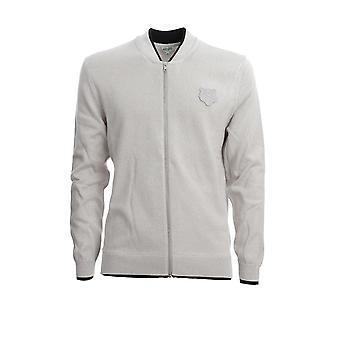 Kenzo Fa55ca1023ab94 Men's Grey Cotton Sweater