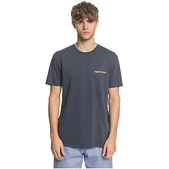 Quiksilver Lazy Sun Korte Mouw T-shirt in Blue Nights