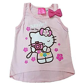 Hello kitty flickor tunika topp
