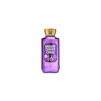 (2 Pack) Bath & Body Works Merry Cherry Cheer Shower Gel 10 fl oz / 295 ml
