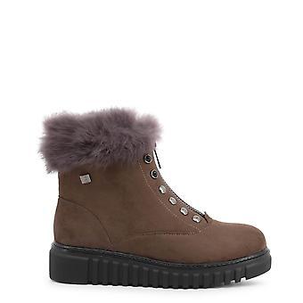 Laura Biagiotti Original Women Fall/Winter Ankle Boot - Brown Color 37102