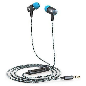 Headphones with microphone huawei (3.5 mm) grey