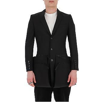 Burberry 4563493a1189 Men's Black Nylon Blazer