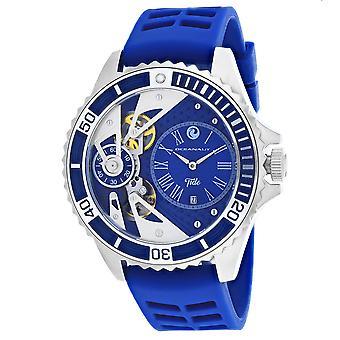 Oceanaut Men-apos;s Tide Blue Dial Watch - OC0994