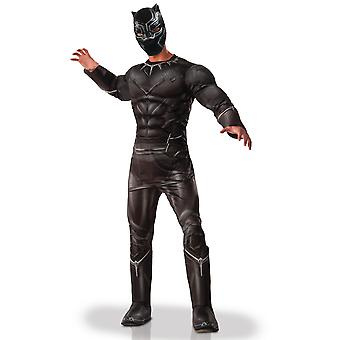 Déguisement luxe Black Panther Avengers adulte