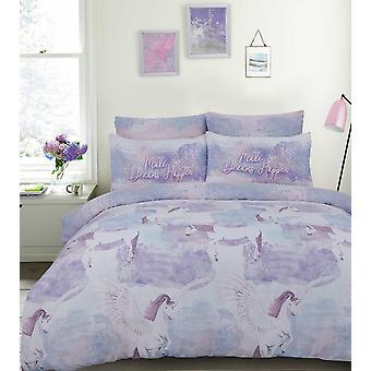 Pegasus Lilac Bettwäsche Set