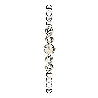 Eton Evening Wear Diamante Watch, Large Stone Set Bracelet - 2981L-CL