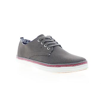 Ben Sherman Bulldog Derby  Mens Gray Leather Lifestyle Sneakers Shoes