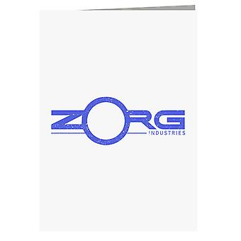 The Fifth Element Zorg Industries Logo Greeting Card