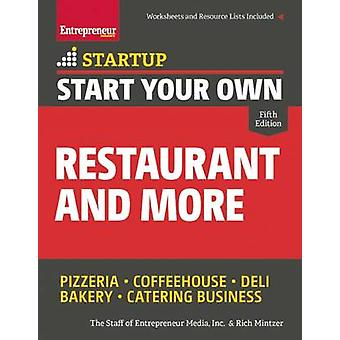 Start Your Own Restaurant and More by Rich Mintzer - 9781599185941 Bo