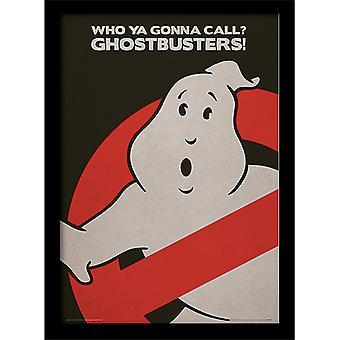 Ghostbusters Logo kehystetty levy 30 * 40cm
