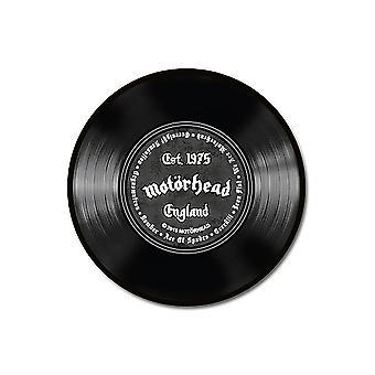 Mot÷rhead Teppich rund Schallplatte schwarz, bedruckt, 100 % Polyamid, mit rutschfester R³ckseite.
