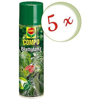 Sparset: 5 x COMPO leaf gloss, 300 ml
