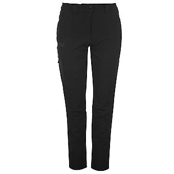 Jack Wolfskin Womens Chilly Track Pants Button Bevestiging Taille Zip Fastening Fly