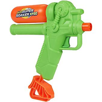 nerf green supersoaker xp20 water blaster green for ages 6 years+