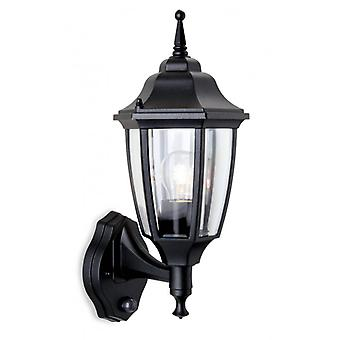 Faro Wall Lamp With Detector, Black