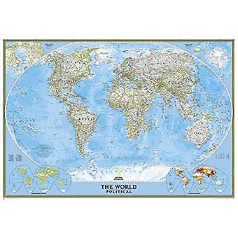 World Political Enlarged Map: PP.NGW622008