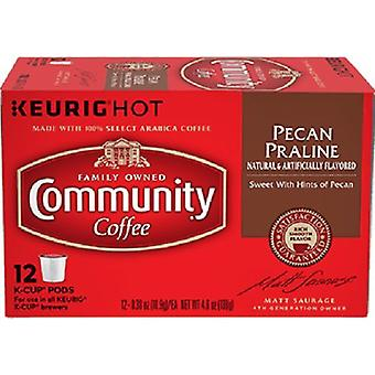 Community Coffee Pecan Praline Coffee Keurig K Cup