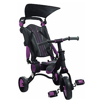 Трицикл Toimsa Галилео Складной Розовый Черный