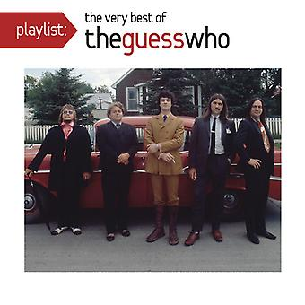 Guess Who - Playlist: Very Best of [CD] USA import Guess Who - Playlist: Very Best of [CD] USA import Guess Who - Playlist: Very Best of [CD] USA import Guess Who