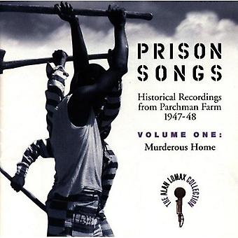 Alan Lomax Collection - Alan Lomax Collection: Vol. 1-Murderous Home-Prison [CD] USA import