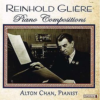 Gliere / Chan - Piano Compositions [CD] USA import