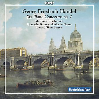 Handel, G.F. / Kirschnereit / Larsen - Handel: Piano Concertos Op. 7 [SACD] USA import