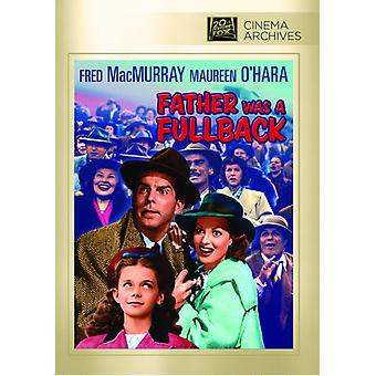 Father Was a Fullback [DVD] USA import