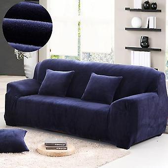 Thick Plush Sofa Covers For Living Room - Sofa Towel Slip Resistant Keep Warm - Strech Sofa Slipcover