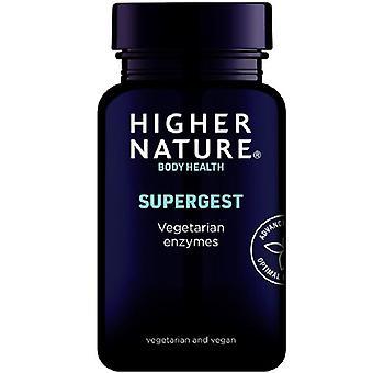 Higher Nature SuperGest Vegetable Capsules 90 (SUG090)