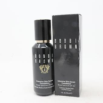 Bobbi Brown Intensive Skin Serum Foundation Spf 40 1oz/30ml Nouveau avec boîte