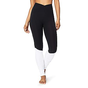 Core 10 Women's Icon Series - The Ballerina Yoga Legging,, Black/White, Size 8.0