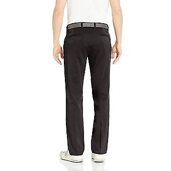 Essentials Men's Standard Straight-Fit Stretch Golf Pant, Noir, 33W x 32L