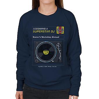 Haynes Superstar DJ Owners Workshop Käsikirja Naisten&s Collegepaita