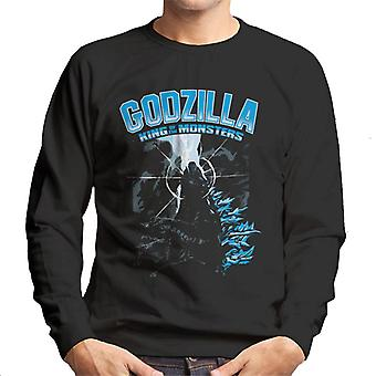 Godzilla King Of The Monsters Elemental Power Men's Sweatshirt