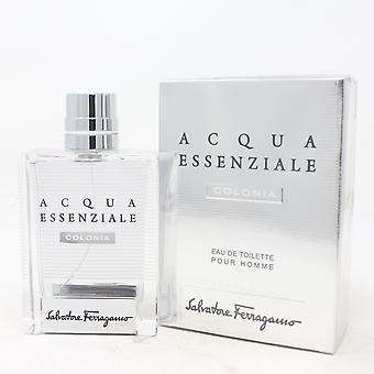 Acqua Essenziale Colonia Pour Homme salvatore Ferragamo Eau De Toilette 3.4oz