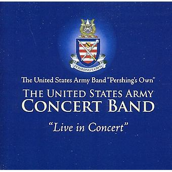 US Army Concert Band - United States Army Band: Live in Concert [CD] USA import