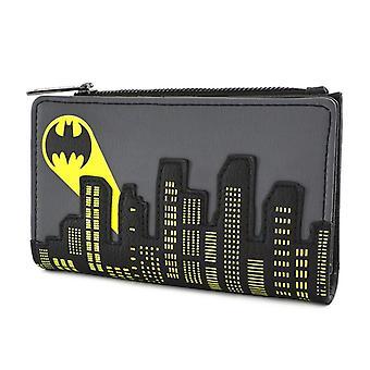 Loungefly Dc Batman Bat Signal Flap Wallet