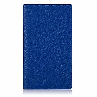 Sapphire Blue Richmond Leather Phone Wallet