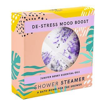 Just Good Days Juniper Berry Destress Shower Steamer Bath Bomb for Shower 140g